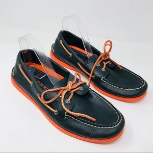 Sperry Top-Sider Navy Blue Boat Shoes Topsider